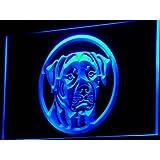 Enseigne Lumineuse i684-b Rottweiler Dog Breed Pet Shop Neon Light Sign