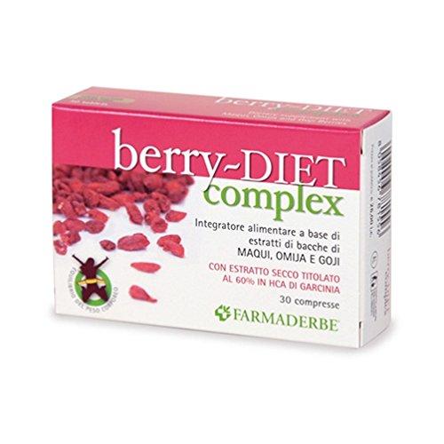 Farmaderbe Berry Diet Complex Integratore 30 Capsule SCADENZA 03/2017