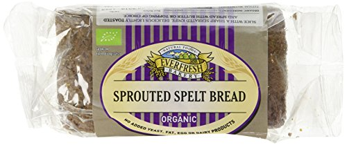 Everfresh Organic Sprouted Spelt Bread 400 g (Pack of 4) Test