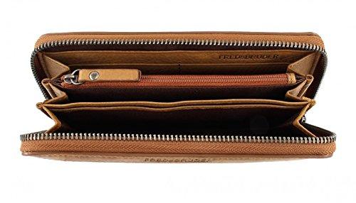 FREDsBRUDER Bestseller Wallet Riffel Big Bronze Marrone