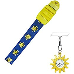 Sun Nurse Gift Fob Watch and Tourniquet Set