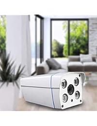WOSOSYEYO Cámara infrarroja Universal de Nerwork de la cámara de Interior casera de 720P HD (Color: Blanco)