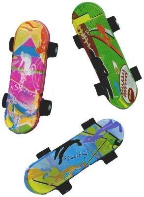 Radiergummi 'Skateboard' 1 Stück - verschiedene Motive verfügbar