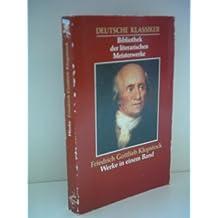Friedrich Gottlieb Klopstock: Werke in einem Band