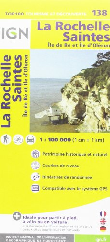 La Rochelle / Saintes ign (Ign Map) par Institut Geographique National