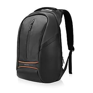 SPARIN Laptop Zaino, Laptop Zaino Scuola Business per Computer Portatile da 15,6 pollici con [USB Port] [Multi-funzionale] [Impermeabile] [Alta Capacita] [anti-furto] -Nero