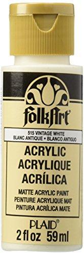 Folk Art (C) Acrylfarbe Altweiß