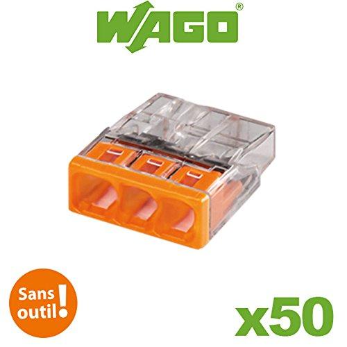 Adaptateur de montage WAGO 2/5/broches 222/500