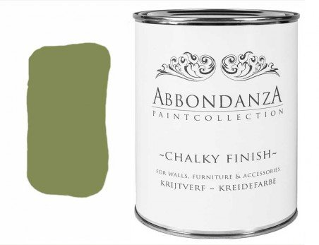 Abbondanza Kreidefarbe Olive 205 1 Liter
