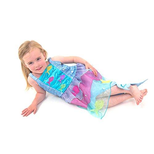 (Tropische Meerjungfrau Kostüm Kinder - Meerjungfrau Kleid Kinder - Gr 104 (4 Jahre) - Lucy Locke)