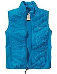 Hollister - Manteau sans Manche - Teddy - Homme Bleu Bleu S
