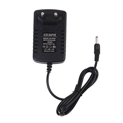 5 Ac Adapter (EU Stecker AC 100-240V DC 5V 2A Macht Stromversorgung Ladegerät Konverter Adapter 3,5 mm)
