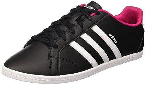 adidas Damen Coneo Qt Sneakers Black (Negbas / Ftwbla / Plamat)
