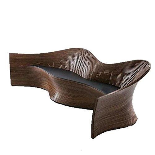 Naturale bambù - rattan vimini set divano / suite divano / divano letto / divano ad angolo / divano / posti / sedia / tavolino da salotto / tavolo da tè / tavolinetto a tre gambe / tavolino / fine tabella