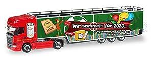 Herpa 923 408 - Scania R TL Carnaval 2016 Camión vehículos