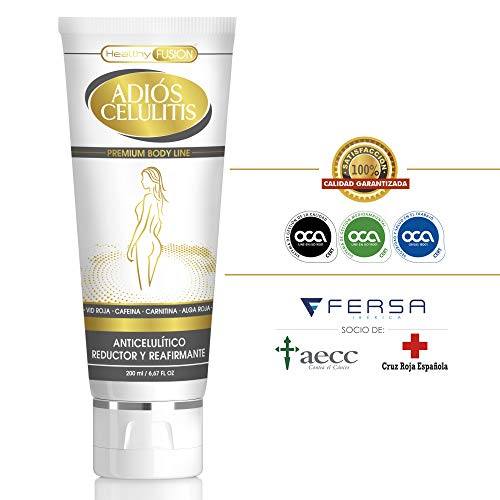 ADIÓS CELULITIS – Gel Anticelulítico, Reductor y Reafirmante Intensivo – Gel 200ml