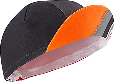 Madison Sportive Poly Cotton Cap - Flame Red