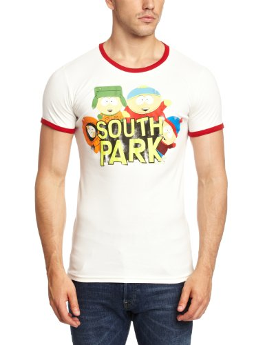 Logoshirt Unisex Hemd T-Shirt Slim Fit South Park-Wild Bunch, Mehrfarbig, (South Park Amazon Kostüme)