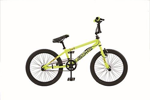 20 ZOLL BMX KINDER BIKE FAHRRAD RAD KINDERFAHRRAD JUGENDFAHRRAD Freestyle 360° ROTOR 4 Pegs JUMPER GELB