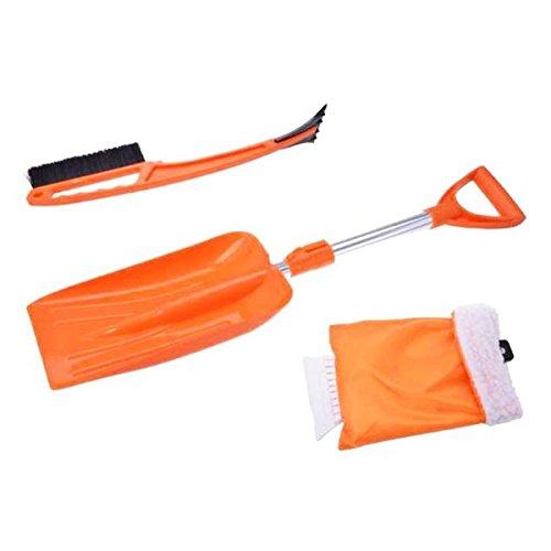 Handschuh Eiskratzer Schneeschaufel Schneebesen perfekt geeignet für jedes Auto KFZ PKW LKW 3er Set