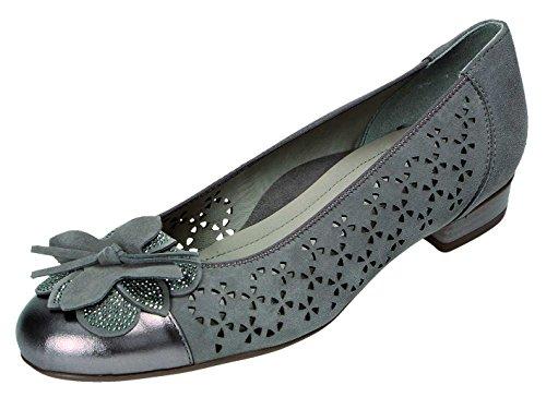 ara , Chaussures de ville à lacets pour femme marron Motif route Motif route