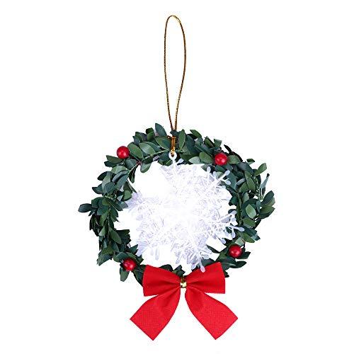 ☃❄Décorations de Noël ☃❄TPulling Arbre de Noël décoration Petit Ornement décoration Pendentif décor fête (C)