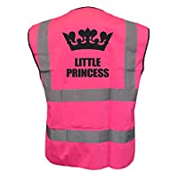 Childs Kids Hi Vis Little Princess Vest Waistcoat Safety Fancy Dress Joke Plus a Brook Hi Vis UK Code for your next order