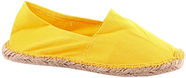Sonnenscheinschuhe® Alpargatas de Lona Para Hombre Amarillo Amarillo  -