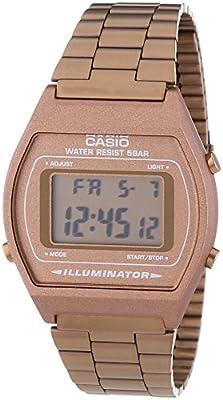 CASIO B-640WC-5 - Reloj de cuarzo unisex, Color Marrón