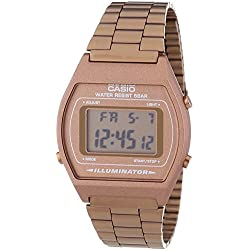 Casio Men's Quartz Watch with Digital Display and Stainless Steel Strap