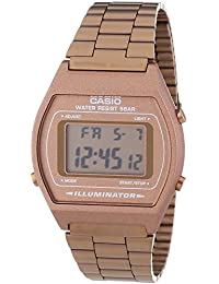Casio Collection – Reloj Unisex Digital con Correa de Acero Inoxidable – B640WC-5AEF