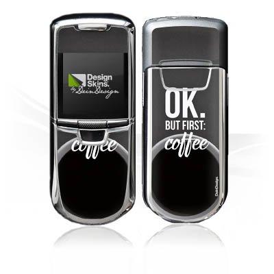 DeinDesign Nokia 8800 Monaco Case Skin Sticker aus Vinyl-Folie Aufkleber Kaffee Sprüche Spruch