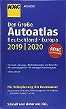 Großer ADAC Autoatlas 2019/2020, Deutschland 1:300 000, Europa 1:750 000 (ADAC Atlanten) - Unknown