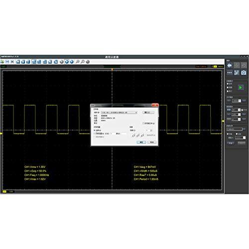 LasVogos Hantek1008C PC USB Auto Diagnose Auto Test Oszilloskop Fahrzeugprüfung (Farbe: schwarz)