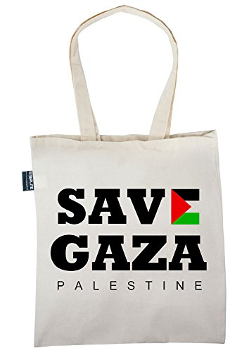 Starlite Neuheit Taschen-Freies Palästina -Speichern gaza-(Save Gaza) Tote Shopper Tragetasche