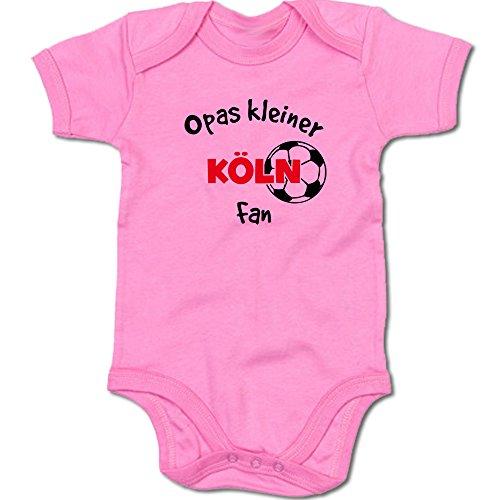 G-graphics Opas Kleiner Köln Fan Baby Body Suit Strampler 250.0292 (0-3 Monate, pink)