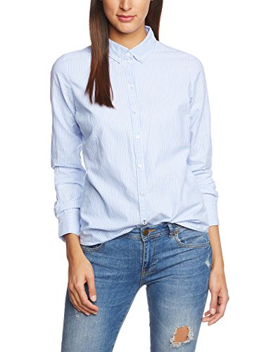 Only OnlCici L/s Oxford Shirt Noos Wvn - Blusa Para Mujer Only