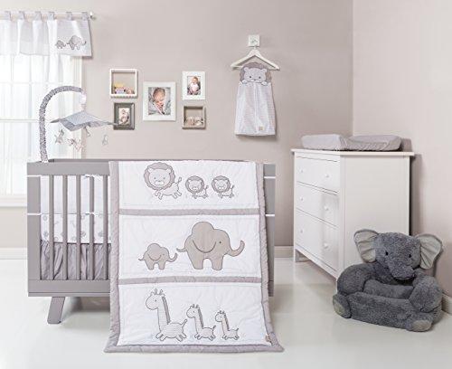 Trend Lab Safari Chevron 3Stück Bettwäsche Set für Wiege, schwarz/weiß - Chevron Baby-bettwäsche-sets
