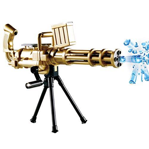 Fernando S.L Arma Kugelkopf Wasser-Arma Airsoft-Mehrmaschine Gatlin Modell-Fahrzeug-Juguetes Armee-Replik für Kinder Erwachsene