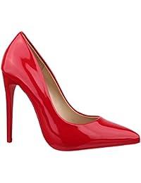 de8a22640a79a9 Suchergebnis auf Amazon.de für  rote high heels  Schuhe   Handtaschen