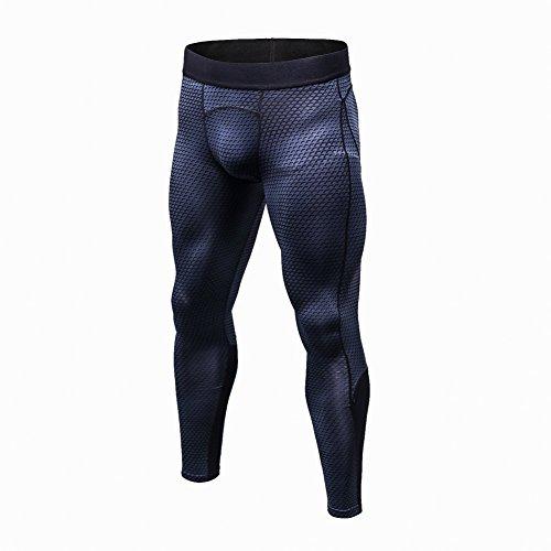 Someas Pantalons de compression pour hommes Collants de sport Collants Leggings Collants de fitness / course Leggings Vêtements de sport Séchage rapide Homme Pantalons de sport Leggings de compression Collants de sport