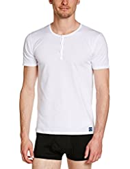Rochas T-Shirt Buttons60107001 - Maillot de corps - Uni - Homme