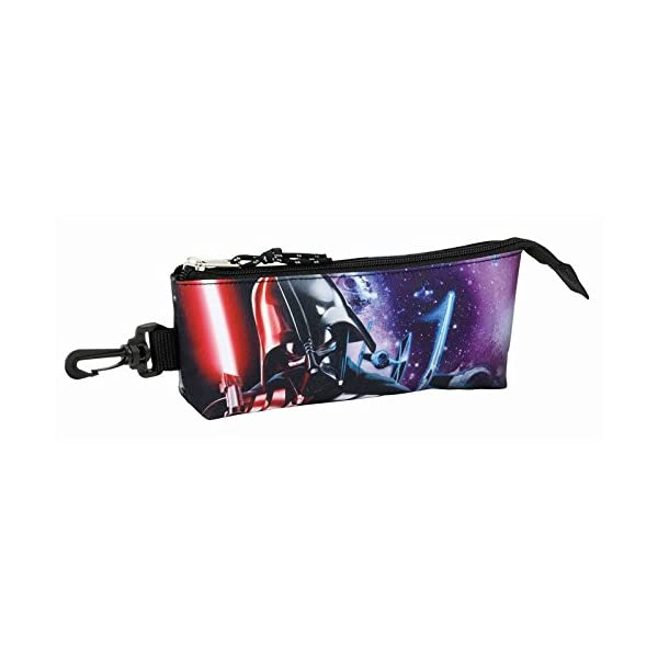 Star Wars Estuche portatodo Triangular (SAFTA 811701323), Color Saga