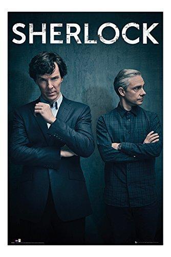 Sherlock Serie 4 Poster Maxi - 91.5 x 61cms (36 x 24 Pollici)