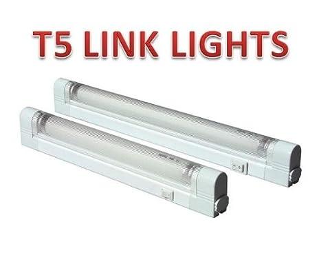 21 WATT T5 LINK LIGHT FLUORESCENT UNDER CABINET LIGHTS