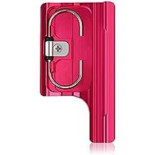 Konsait gopro accesorios reemplazo Estándar impermeable Vivienda cubierta hebilla de bloqueo para GoPro Hero 3 +, Hero 3 Plus, 4 Cámara (rojo)