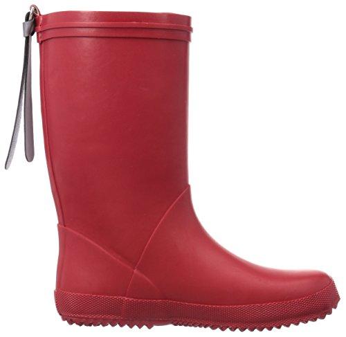 """Bisgaard RAIN BOOT """"STAR"""", Bottes en caoutchouc de hauteur moyenne, doublure froide mixte enfant Rouge (10 Red)"""