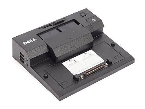 Original Dell E-Port (K07A) Docking Station, DisplayPort, DVI, eSATA, USB, für Latitude E4200, E4300, E5400, E5500, E6400, E6400 ATG, E6500, Precision M2400, M4400.