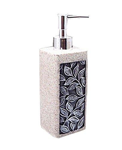 [Feuille] Résine Distributeur de savon Lotion Bottle Shampoo Container