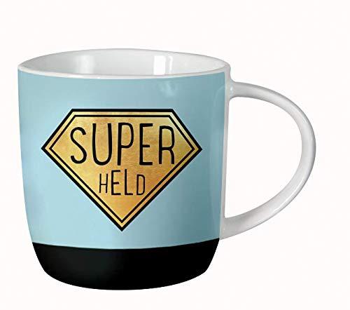 GRAFIK WERKSTATT Das Original 61140 Grafik Werkstatt Kaffee fürs Büro| Porzellan verschenken | Superheld Tasse,